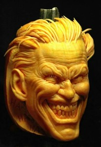 scary face pumpkins