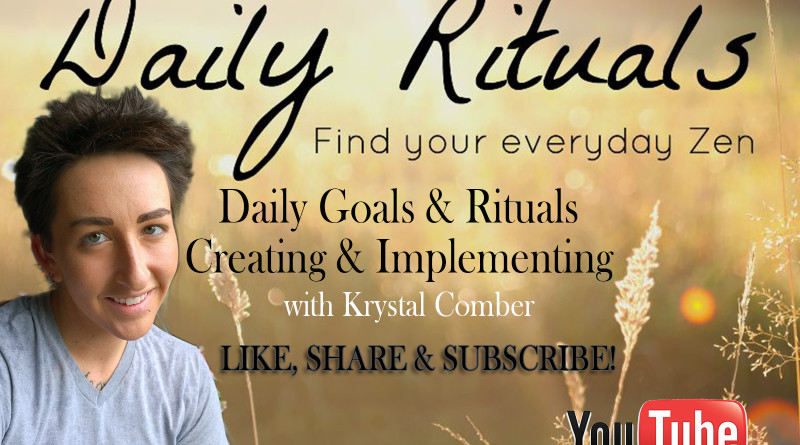 Personal Development Daily Goals and Rituals