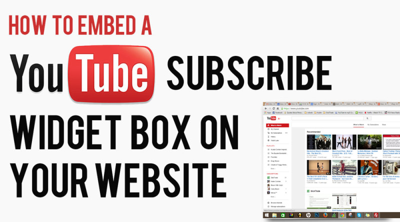 how-to-add-a-youtube-subscribe-widget-box-on-website-blog-code-html